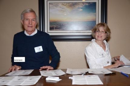 Bob Raye and Pam Sorgatz Bousquet