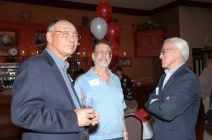George Pon, Bill Tivol and James Chao