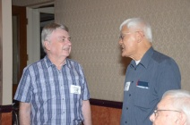 Wayne Grodt and Alvin Chan