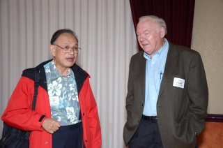 Munson Kwok and Leif Hatlen