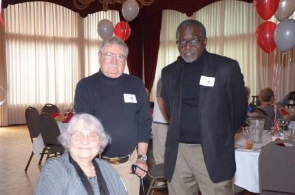 Susan Scott Walenta, Arthur Walenta, and Marion Page
