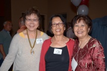 Sophie Kwong Tom, Mae Jee Chu and Susan Ju Go
