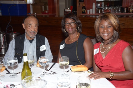 Jim Stokes, Artishia Kidd Dotti and friend.